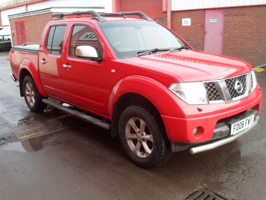 usednissan navara dci outlaw 4x4 shr swb dcb pick up 190ps. Black Bedroom Furniture Sets. Home Design Ideas