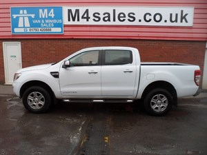 used Ford Ranger LIMITED 4X4 PICKUP DCB 150PS TDCI A/C in wiltshire