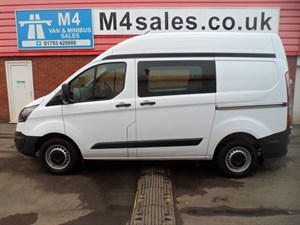 used Ford Tourneo CUSTOM CREW VAN HI ROOF 125PS in wiltshire