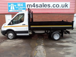 used Ford Transit tipper new shape s/c  in wiltshire