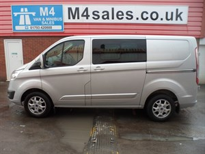used Ford Transit Custom 290 LIMITED LR CREWVAN *NO VAT* in wiltshire