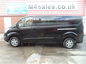 used Ford Transit Custom 290 LIMITED LR D/C SWB 155PS A/C in wiltshire
