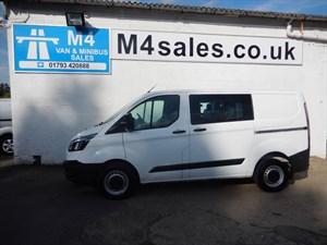 used Ford Transit Custom 310 LRcrew/van in wiltshire
