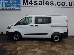 used Ford Transit Custom 310 ECO-TECH CREW VAN in wiltshire