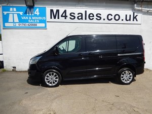 used Ford Transit Custom 290 SPORT LR ONLY 6000 MILES in wiltshire