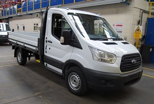 used Ford Transit New Shape 125ps Dropside Twin Wheel in wiltshire