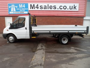 used Ford Transit 350 S/C LWB DROPSIDE 125PS in wiltshire