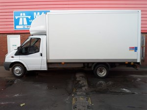used Ford Transit 350 LUTON 140PS LWB WITH TAIL LIFT in wiltshire
