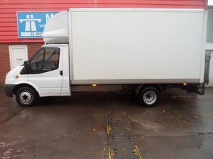 used Ford Transit 350 LWB LUTON 115PS in wiltshire