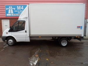 used Ford Transit 350 ONE STOP BOX LUTON 100PS in wiltshire