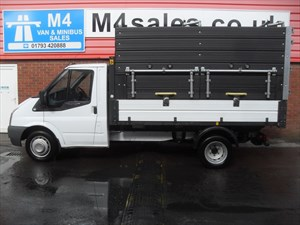 used Ford Transit 330 LIMITED SHR ONE STOP TIPPER WITH SIDES 115PS in wiltshire