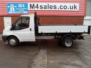 used Ford Transit 350 DRW TIPPER 100PS in wiltshire