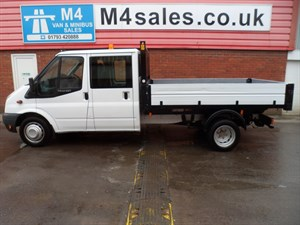 used Ford Transit 350 DRW TIPPER D/C 115PS in wiltshire