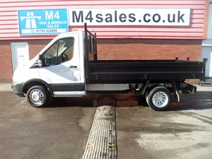 used Ford Transit 350 S/C TIPPER 100PS in wiltshire
