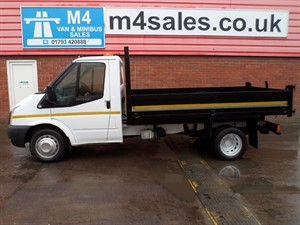 used Ford Transit TIPPER SINGLE CAB 350 RWD in wiltshire