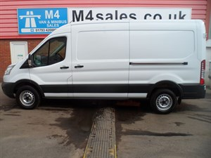 used Ford Transit 350 MEDIUM ROOF LWB NEW SHAPE 125PS in wiltshire