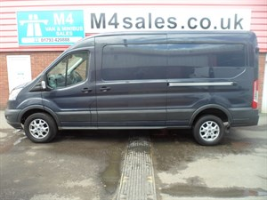 used Ford Transit 350 TREND SHR LWB A/C 125PS in wiltshire