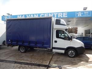 used Iveco Daily ECODAILY 35C17 XLWB CURTIANSIDER AND TRAILER in wiltshire