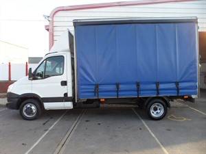 used Iveco Daily 35C15 XLWB CURTAINSIDER 150PS  in wiltshire