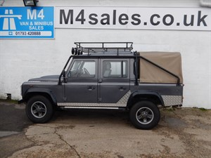 used Land Rover Defender 110 DCB LWB, TOMB RAIDER REP in wiltshire
