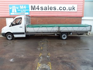 used Mercedes Sprinter 313 CDI LWB 130PS 20FT DROPSIDE WITH CANOPY in wiltshire