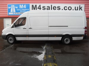 used Mercedes Sprinter 313 CDI LWB  H/TOP **CHOICE OF 10 ** in wiltshire