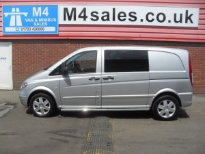 used Mercedes Vito 115 SPORT DUALINER COMPACT A/C 150PS in wiltshire