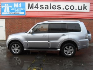 used Mitsubishi Shogun DI-D 4WORK 3.2 LWB A/C in wiltshire