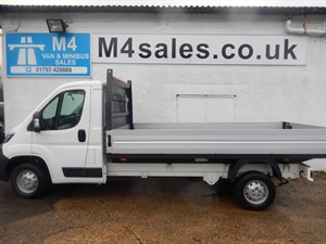 used Peugeot Boxer HDI 335 L3, 130PS, DROPSIDE. in wiltshire