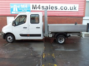 used Renault Master TIPPER ML35 DCI L/R D/C DRW 100PS in wiltshire