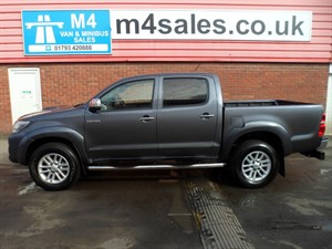 used Toyota Hilux HI-LUX INVINCIBLE 4X4 D-4D DCB in wiltshire