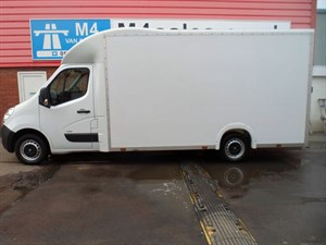 used Vauxhall Movano F3500 L3H1 CDTI LUTON 125PS in wiltshire