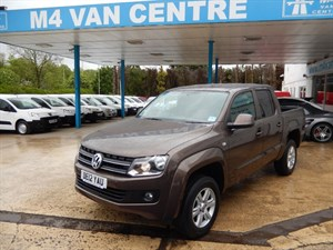 used VW Amarok DC TDI TRENDLINE 4MOTION in wiltshire