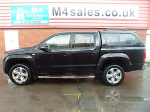used VW Amarok D/C TDI HIGHLINE 4MOTION A/C 163PS CRUISE CONTROL in wiltshire