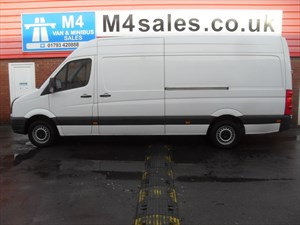 used VW Crafter CR35 TDI LWB 109PS in wiltshire