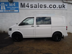 used VW Transporter T30 TDI KOMBI 140 ps A/c Twin Doors in wiltshire