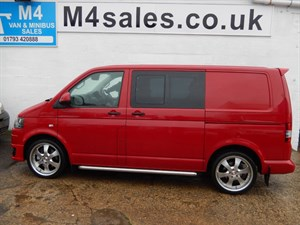 used VW Transporter T32 TDI KOMBI 180 BHP DSG in wiltshire