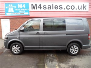 used VW Transporter T30 TDI KOMBI CREWVAN 140PS SWB HIGHLINE A/C  in wiltshire