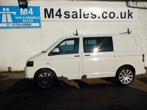 used VW Transporter T30 TDI KOMBI CREWVAN SWB 140PS in wiltshire
