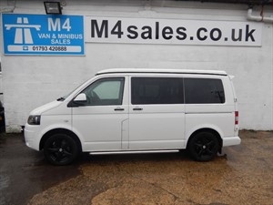 used VW Transporter T28 TDI, Pop Roof Camper, 102 bhp, No Vat. in wiltshire