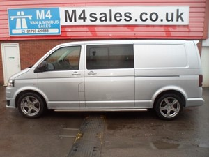 used VW Transporter T32 TDI SPORTLINE  LWB KOMBI VAN 180PS in wiltshire