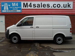 used VW Transporter T28 TDI SWB 102PS in wiltshire