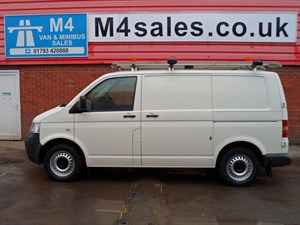 used VW Transporter T30 SWB VAN TDI 4MOTION 130PS in wiltshire