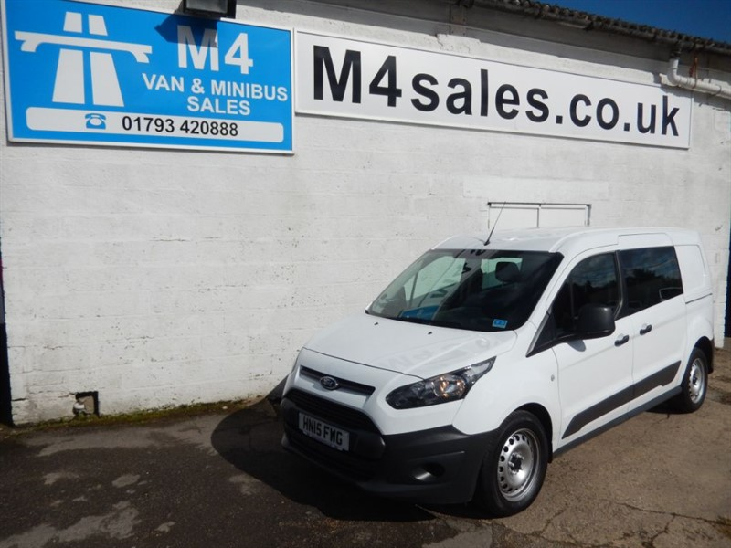 used Ford Transit Connect 230 D/C LWB CREW/VAN  in wiltshire