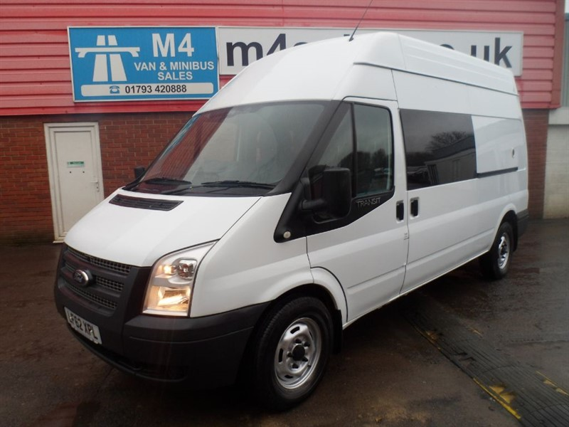 used Ford Transit LWB-350 H/R LWB MESS VAN 100PS in wiltshire
