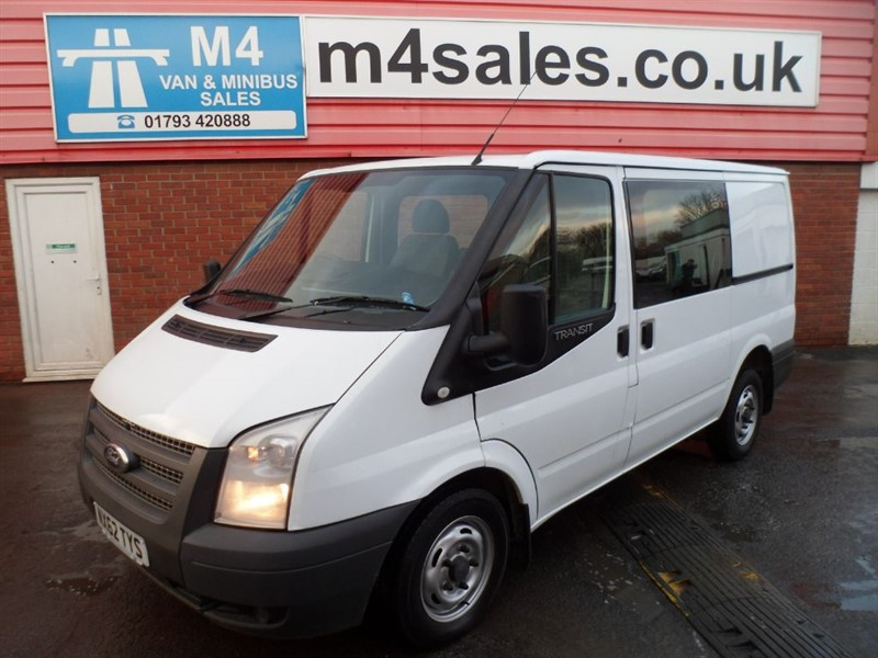used Ford Transit 280 LR CREWVAN 100PS  in wiltshire