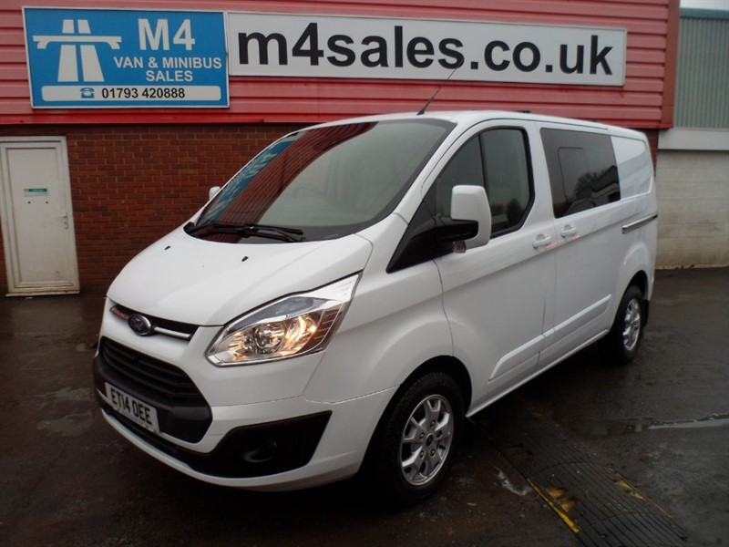 used Ford Transit Custom 290 LIMITED LR CREWVAN A/C  in wiltshire