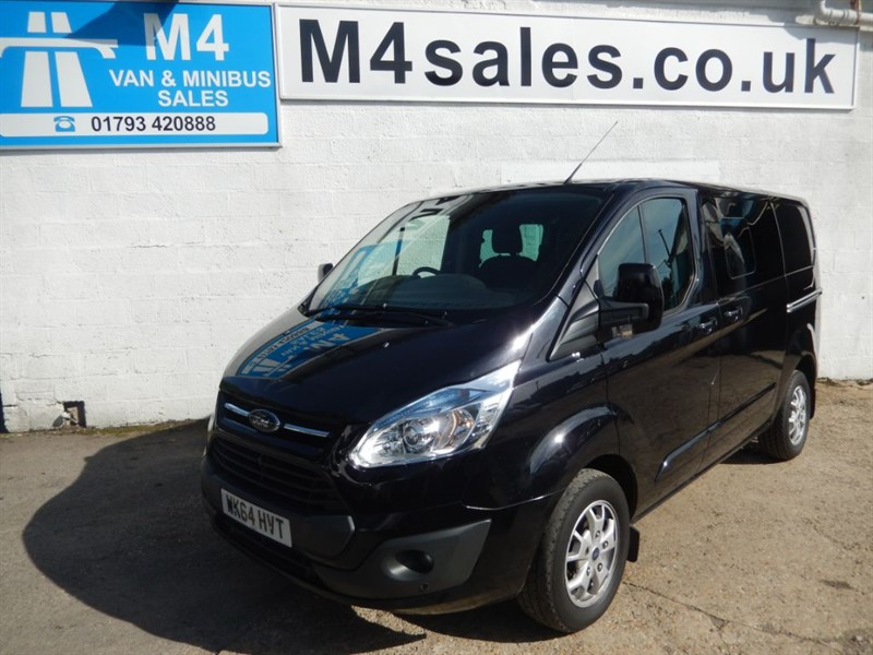 used Ford Transit Custom 290 LIMITED D/CAB, 125PS. in wiltshire