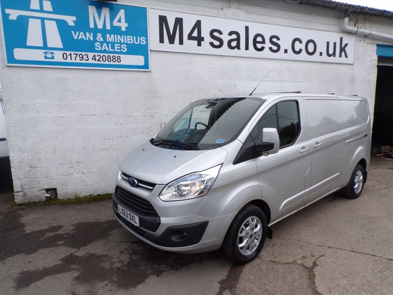 used Ford Transit Custom 290 LIMITED low/roof  LWB in wiltshire