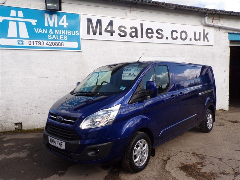 used Ford Transit Custom 290 LIMITED L/R WITH A/C 2.2 LIMITED LWB in wiltshire